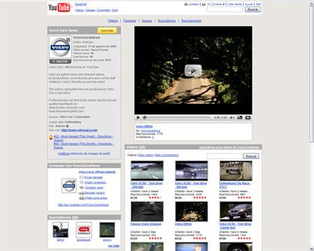 Volvo lanza su canal oficial de Youtube