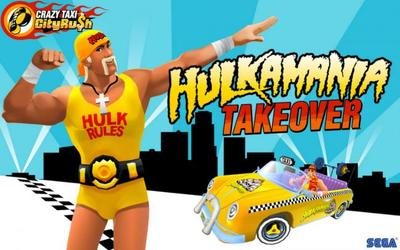 SEGA trae la Hulkamania a Crazy Taxi City Rush