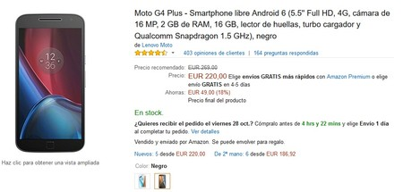 Moto G4 Plus Amazon