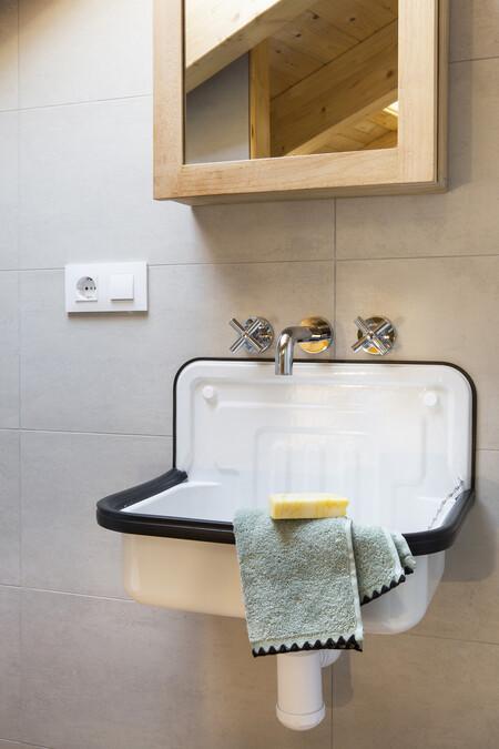 Lavabos con poco fondo para cuartos de baño (muy) pequeños