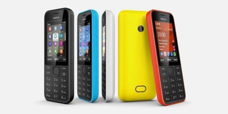 Nokia lanza dos nuevos móviles sencillos con 3G, Nokia 207 y Nokia 208