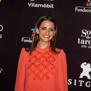 Macarena Gómez y Megan Montaner eligen el color rojo para deslumbrar en el Festival de Sitges