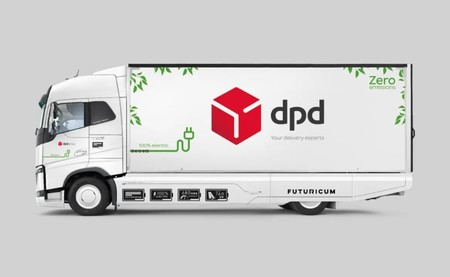 Camion Dpd