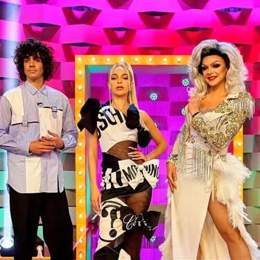 Bad Gyal y su vestido de Moschino de diva en Drag Race España