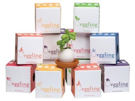"""Planta un huevo """"Eggling"""" y espera a verlo brotar"""