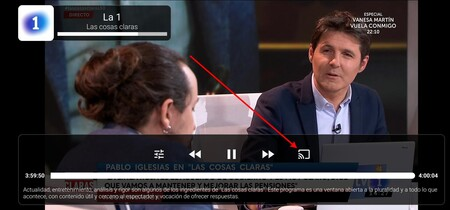 Ver Tele Chromecast