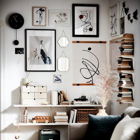 Si tu hogar necesita un cambio (radical) pero no dispones de mucho presupuesto, estas paredes decoradas podrían inspirarte