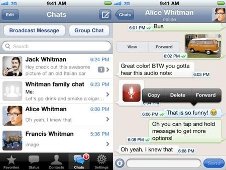 La nueva versión de WhatsApp para iOS incluye cifrado en el envío de mensajes