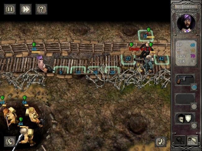 Wasted Land, uno de mis jugadores se muere si no le hago unos primeros auxilios