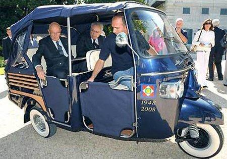 Planes del Grupo Piaggio para 2012-13