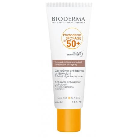 Photoderm SPOT-AGE SPF 50+ Gel-Crema Anti-manchas, 40 ml. - Bioderma