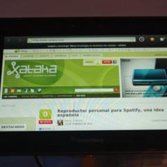 Foto 1 de 5 de la galería blackberry-playbook-en-mwc-2011 en Xataka