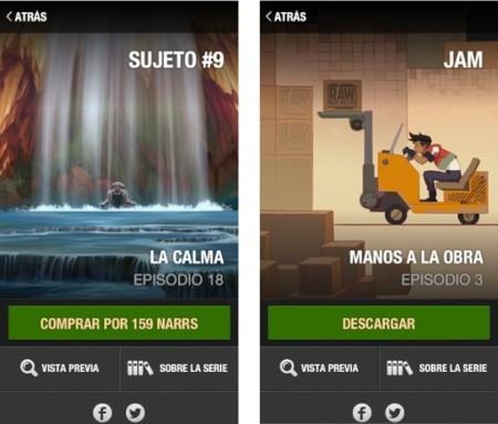 La plataforma de contenido interactivo Narr8 llega al iPhone