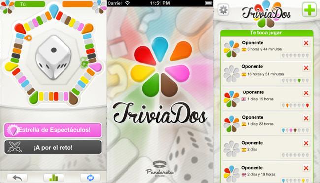 Juegos de mesa para iOS - trivial