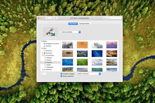 Cómo poner nuestras propias fotos de fondo de pantalla en nuestro Mac