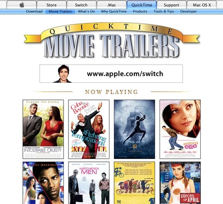 Apple Trailers 2002