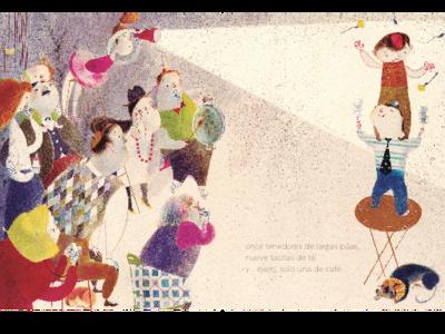 'Una vajilla impar', de Isabel Hojas y Catalina González, V Premio Internacional Álbum Ilustrado Edelvives