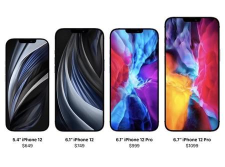Los iPhone 12 por fin abandonarán los 64 GB y su versión base comenzará desde 128 GB de almacenamiento, según Jon Prosser
