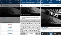 Instagram se actualiza pudiendo editar el texto escrito y mejorando la búsqueda fotográfica