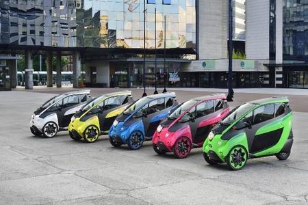 Toyota I Road Salon De Paris