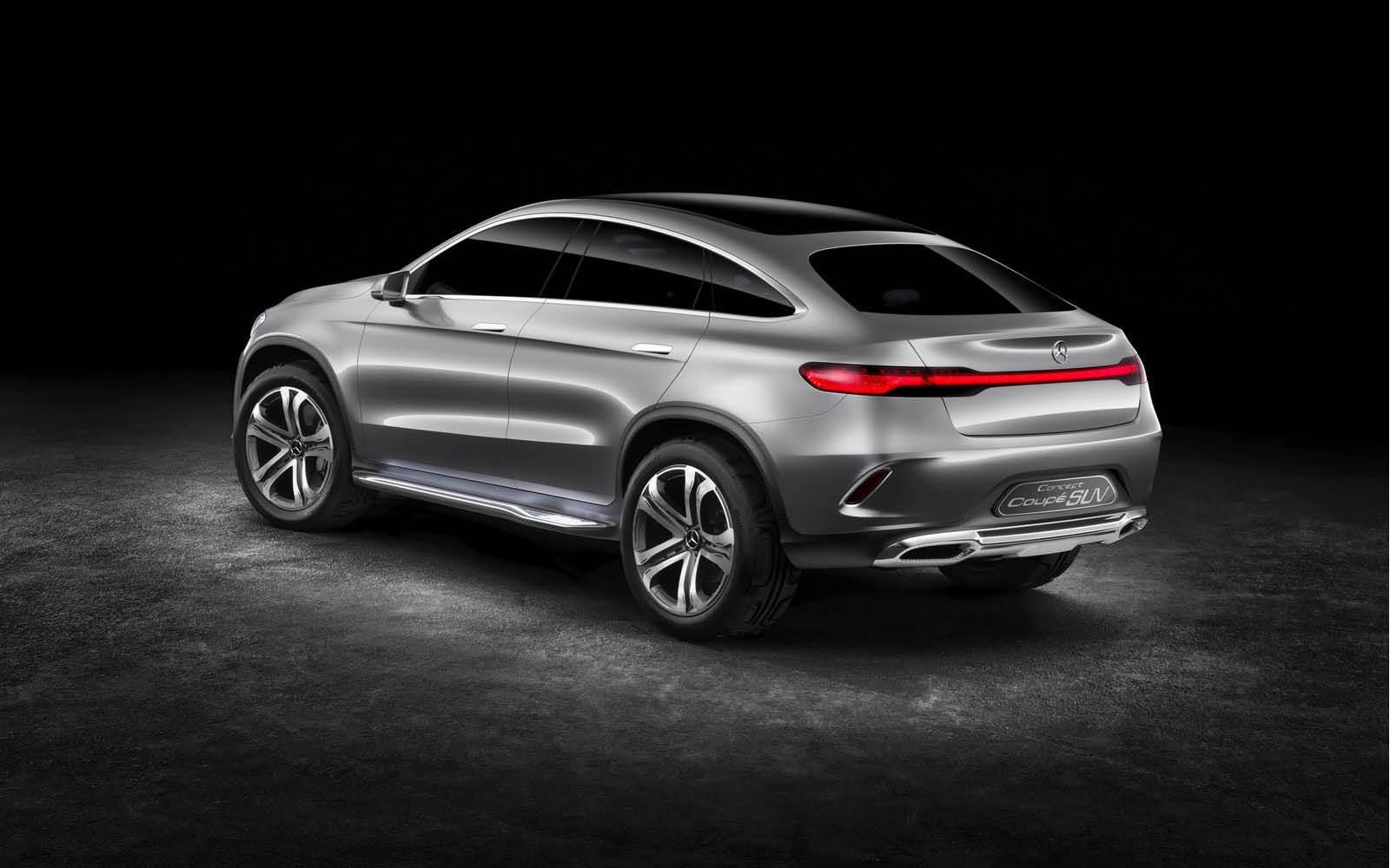 Foto de Mercedes-Benz Coupé SUV Concept (20/30)