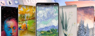 Como cambiar temas e construir mas recientes fuentes e iconos en un amovible Huawei