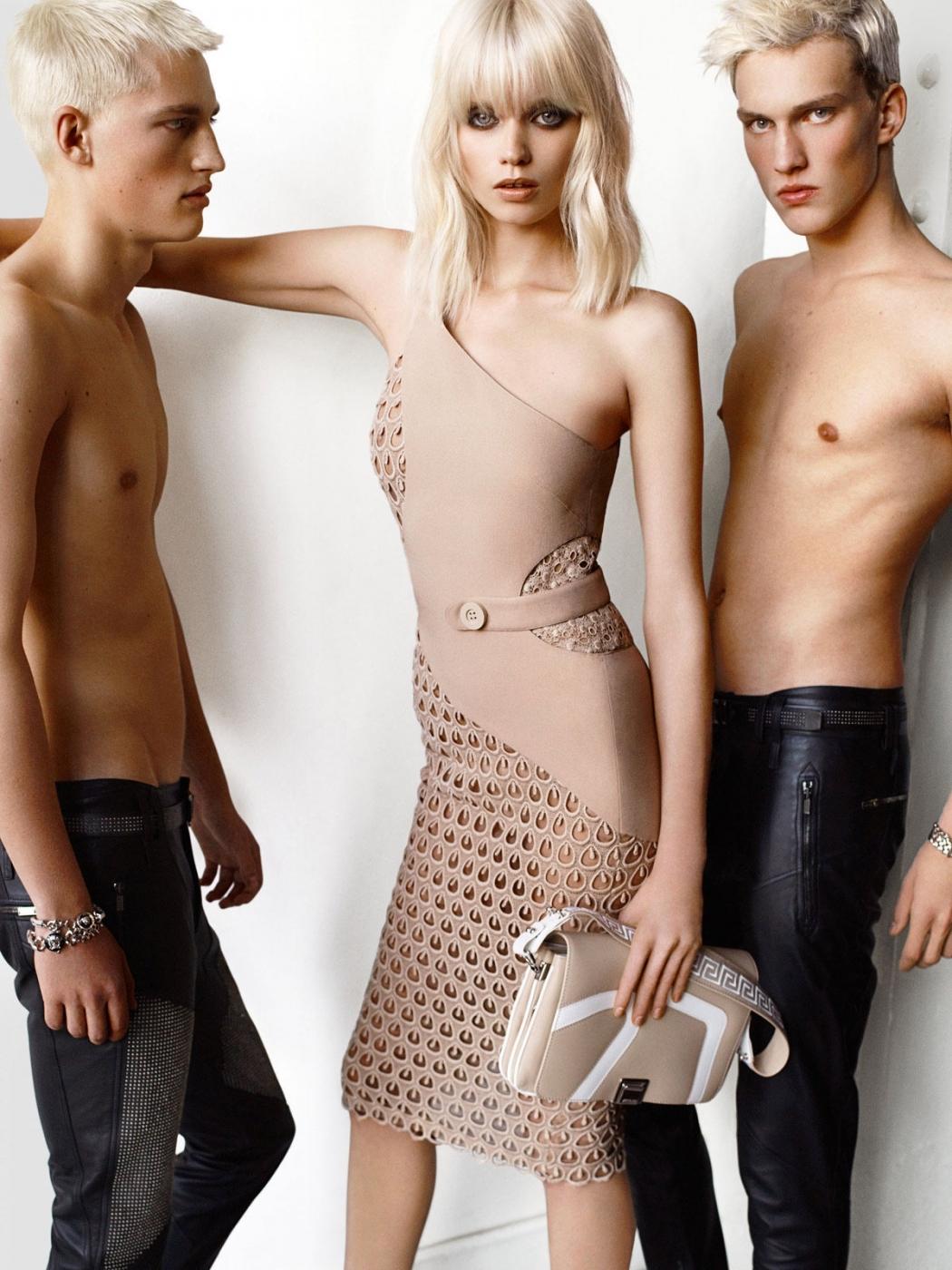 Versace y su campaña para la Primavera-Verano 2011