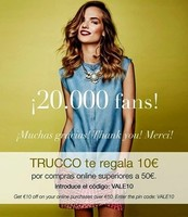 10 euros de descuento en Trucco online