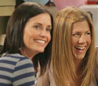 Rachel y Mónica, de nuevo juntas