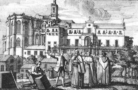 Convento Do Carmo en 1745