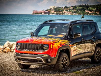 ¿Echabas de menos las decoraciones de llamas en los coches? Pues toma el Jeep Renegade Hell's Revenge