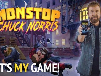 El sueño de muchos se cumplirá en abril, llega el juego para móviles de Chuck Norris
