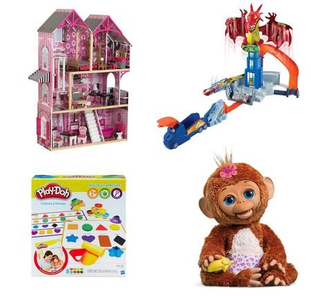 4 ofertas en juguetes en Amazon de marcas como Play-Doh, Hot Wheels o Fur Real Friends. Desde 9,99 euros