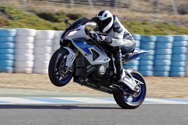 BMW HP4 en Jerez