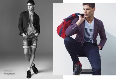 Fusión de sportwear y visiones sartoriales para la primavera de Victor Cool