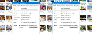 Cómo redimensionar muchas imágenes a la vez, sin instalar nada ni subirlas a Internet