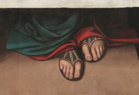Window Y The Last Supper Attributed To Giampietrino And Giovanni Antonio Boltraffio Google Arts Culture
