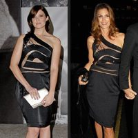 Vestido de Preen, ¿quién lo lleva mejor: Mandy Moore o Cindy Crawdford?