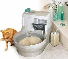 Baño que se autolimpia para tu gato