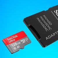 ¿Necesitas más espacio en tu smartphone o tableta? Tienes los 128 GB de la MicroSDXC SanDisk Ultra por sólo 19,99 euros en Amazon