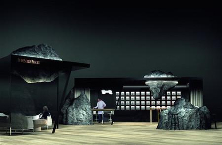 Mathieu Lehanneur diseña el nuevo lounge de Audemars Piguet en Art Basel de Hong Kong