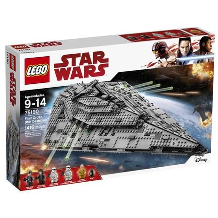 Destructor Estelar Lego Star Wars con 40 euros de descuento y envío gratis
