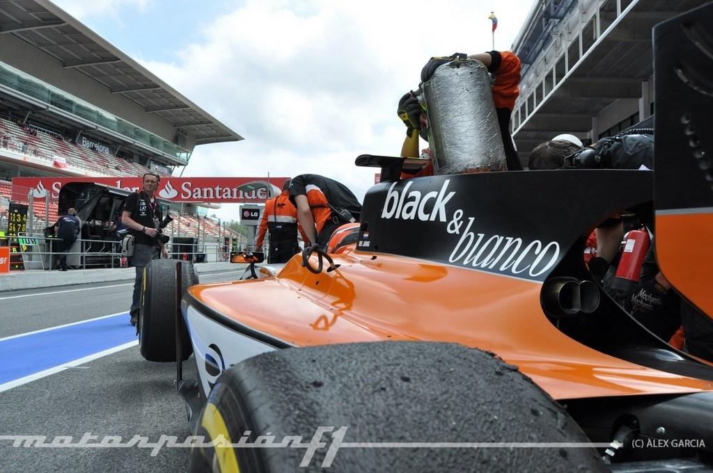 Foto de GP2 2013 Barcelona (80/138)