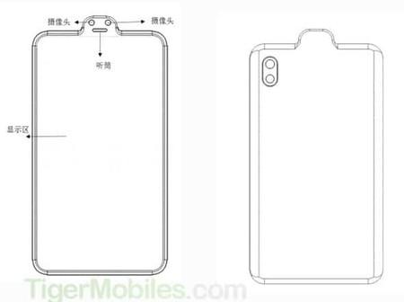 Patente Xiaomi Doble Camara Frontal