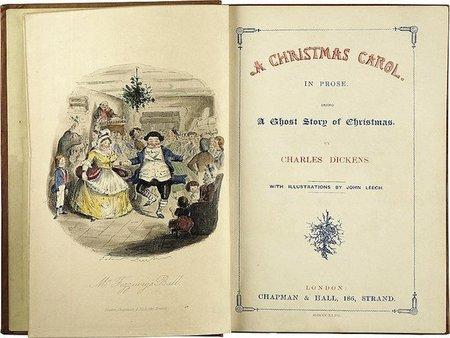 'Un cuento de Navidad' de Charles Dickens