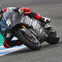 Niki Tuuli manda en el debut de las motos eléctricas de MotoGP en Jerez