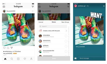Instagram por fin permite compartir las publicaciones de otros en tus Historias