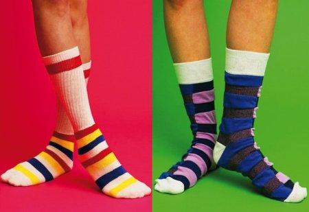 Todo el color de la primavera a tus pies: calcetines Happy Socks