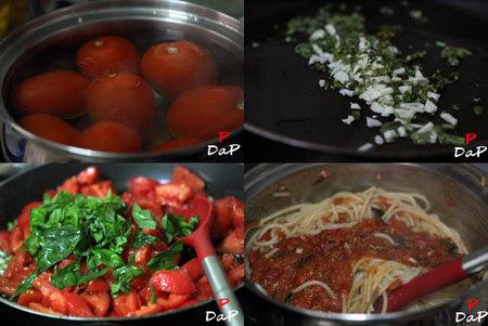 Hacer salsa de tomate para pasta