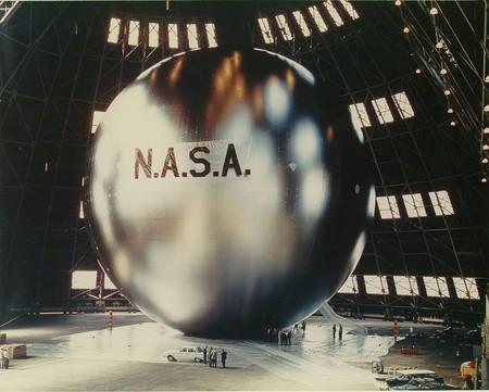Globos de 41 metros de diámetro y cubiertos de aluminio: la idea de la NASA para los primeros satélites de comunicación